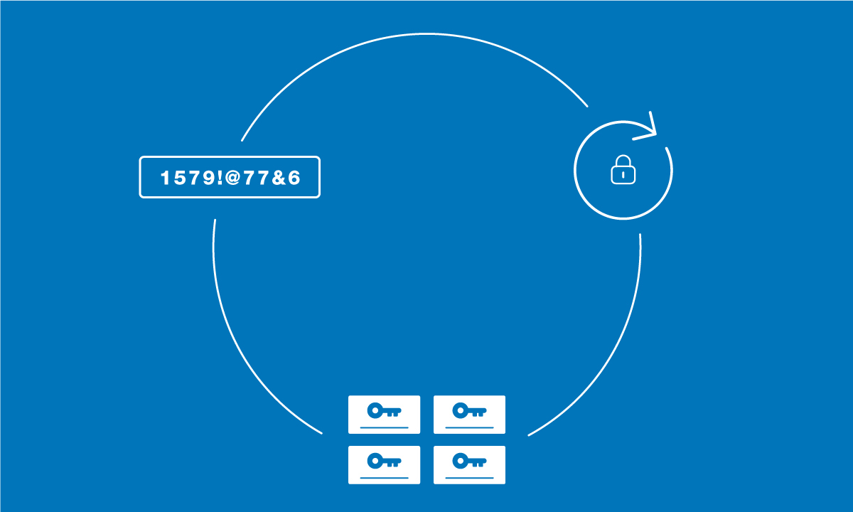 Password Tips Cycle